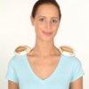 Muskeln vor der Massage vorwärmen auch die JOYA Massageroller- passend für die Wärmesäckchen