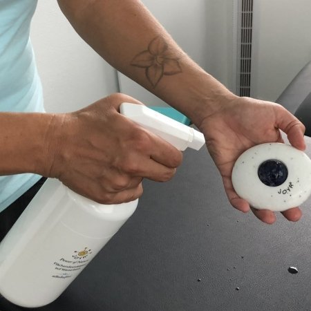Zum Hygienischen Reinigen aller Flächen. Besonders gut geeignet für die JOYA Massageroller