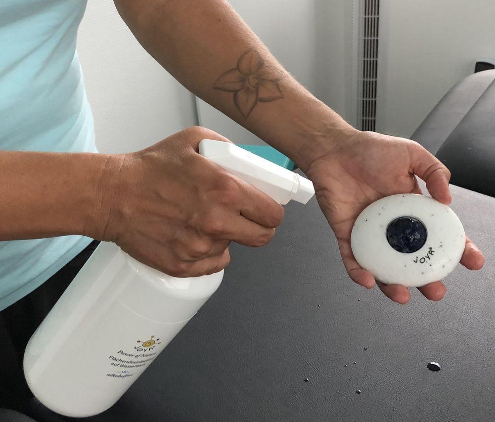 joya fl chendesinfektion auf wasserbasis 1l joya massageroller und massageprodukte. Black Bedroom Furniture Sets. Home Design Ideas