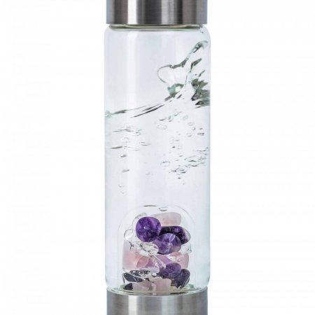 Edelsteinwasser mit dem ViA von VitaJuwel, für unterwegs ideal