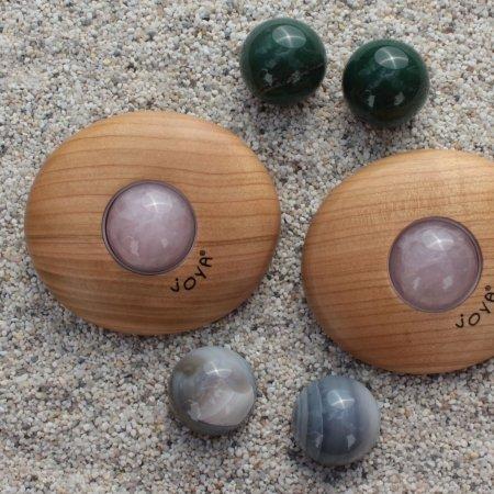 Dieses JOYA Massageset ist für die Familienzeit oder Zweisamkeit zu Hause gedacht.
