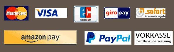 Bezahlmethoden