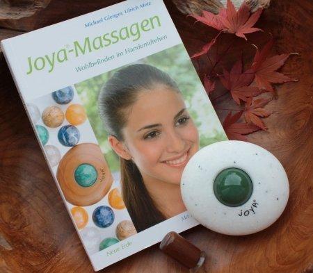 Das Trainigs Set für den BEginn mit der JOYA Massage. DEr Classic Professional mit Aventurin und unser Lehrbuch
