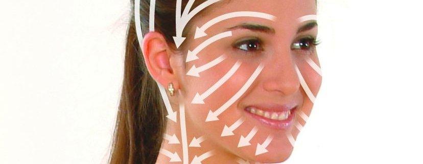Vorgehensweise der Lymphdrainage im Kopfbereiche