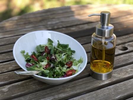 pump! Dosierspender Happiness für 250 ml Flüssigkeiten wie Öle, Essige oder Hanseife und Gelele