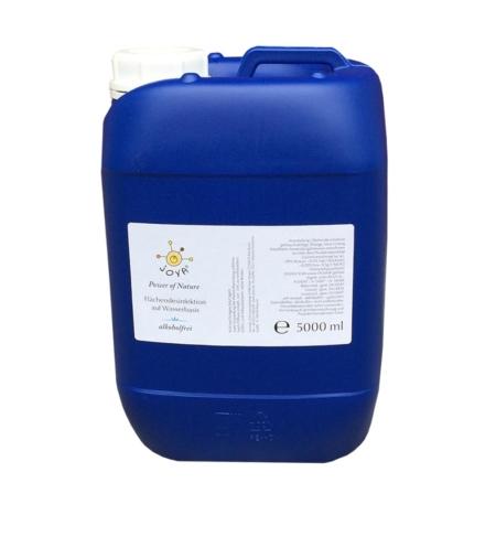 Fünf Liter Kanister JOYA Power of Nature Desinfektionsmittel