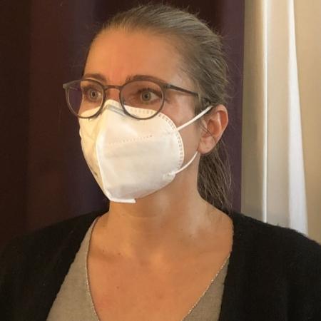 Schutzmaske im FFP2 Standard