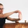 Eine Dehnübung während du den Unterarm triggerst ist besonders effektiv